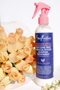 SheaMoisture Silicone Free Miracle Styler Leave-In Treatment #SheaMoisture #beauty