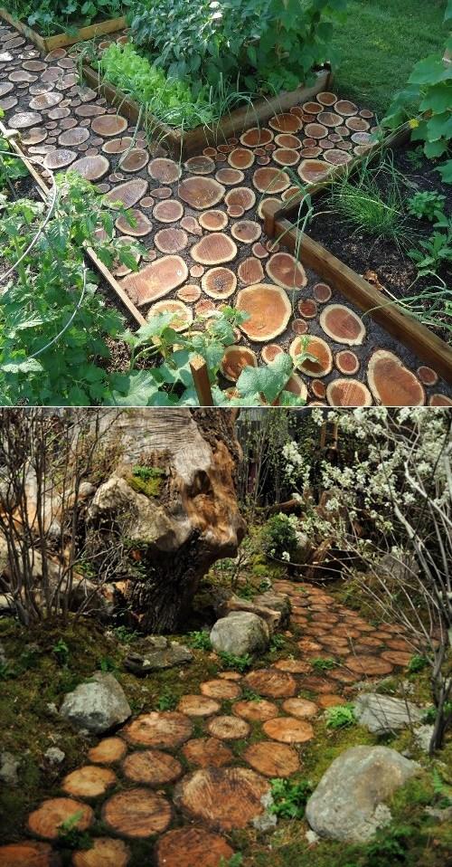 Log Pathway DIY