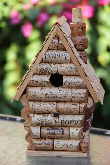You won't believe what this birdhouse is made of!