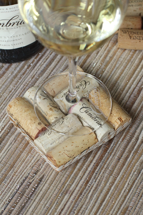 You'll never have to worry about buying another wine coaster!