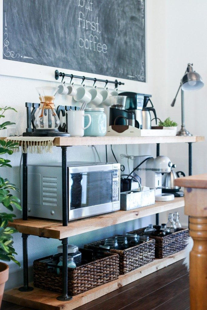Black Pipe Coffee Bar DIY