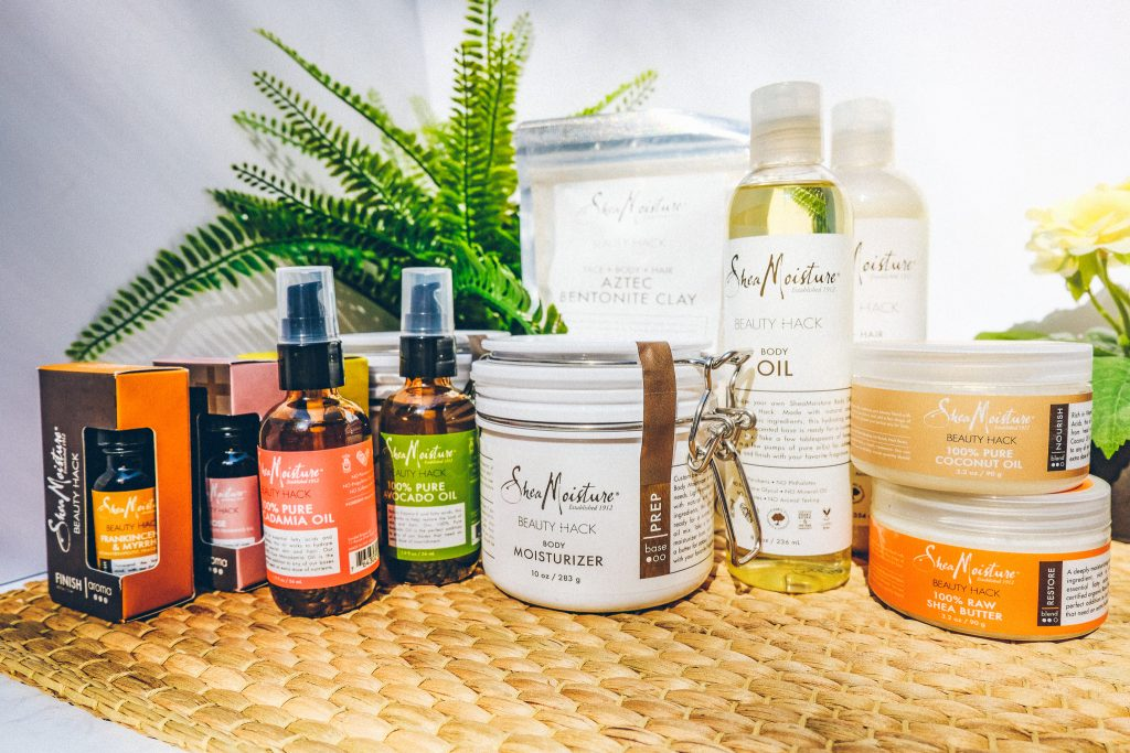 SheaMoisture Beauty Hack Line