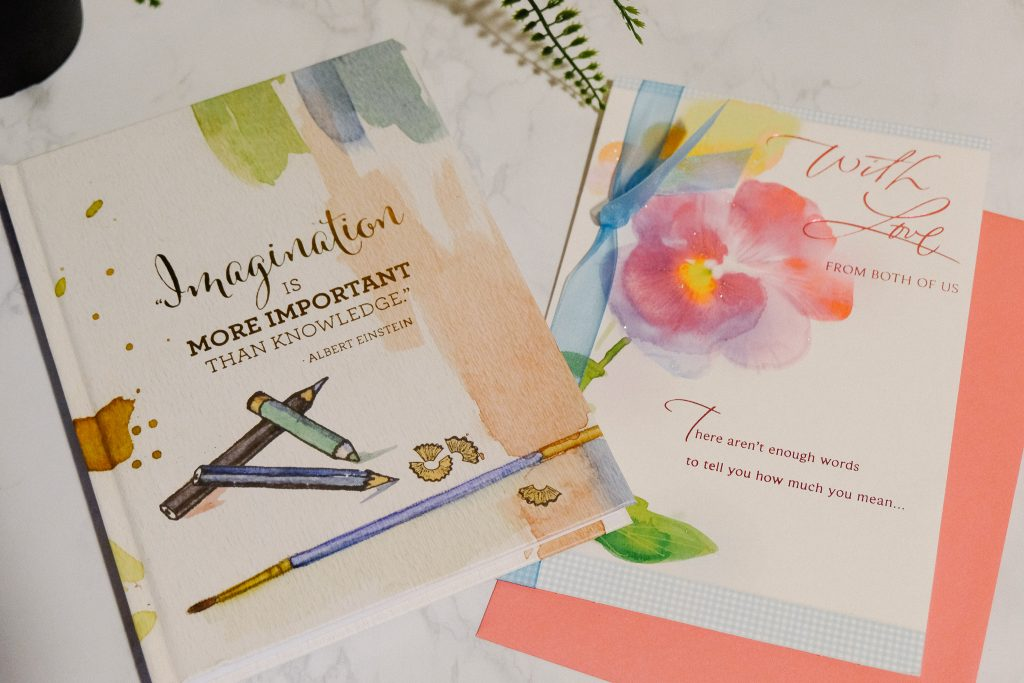 Mother's Day Card and Notebook
