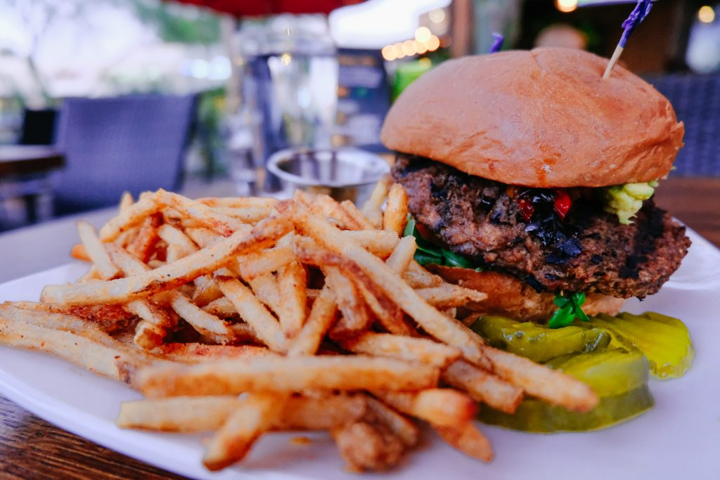 Black Bean Burger in Scottsdale, AZ