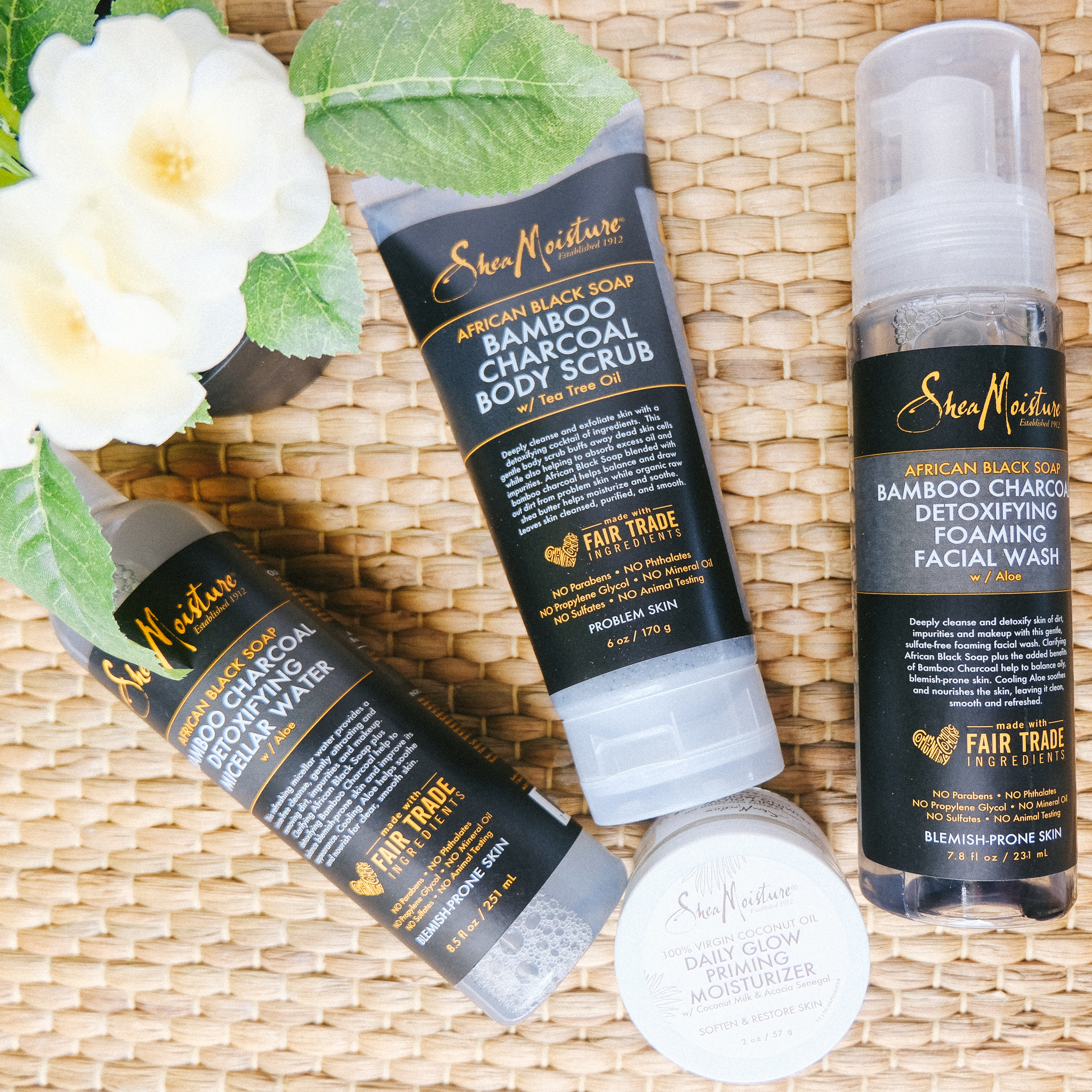 African Black Soap SheaMoisture Review: Keeping my Skin Clear