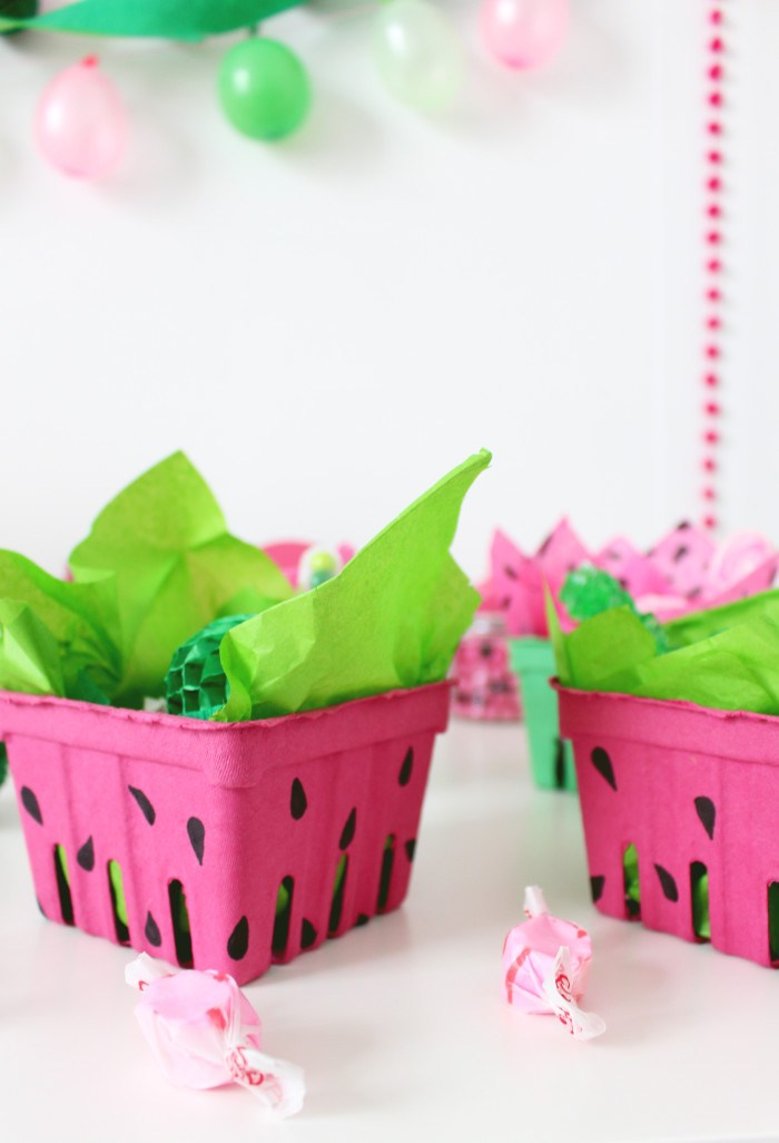 Watermelon Party Favors DIY