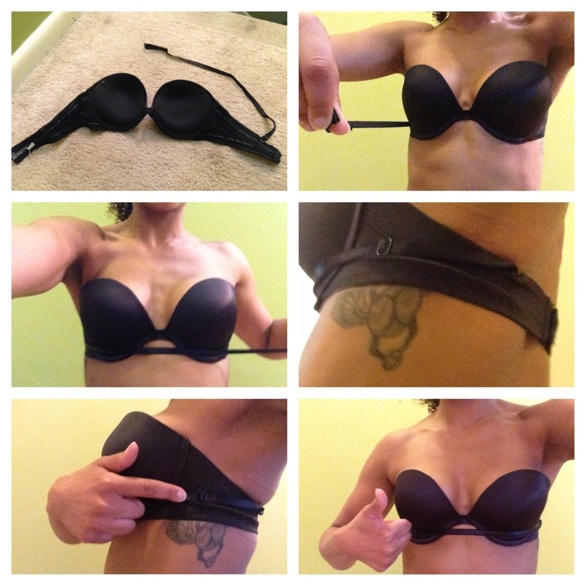 Add Support to Strapless Bra Hack