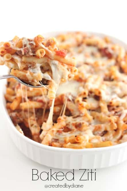 Cheap to Make Baked Ziti