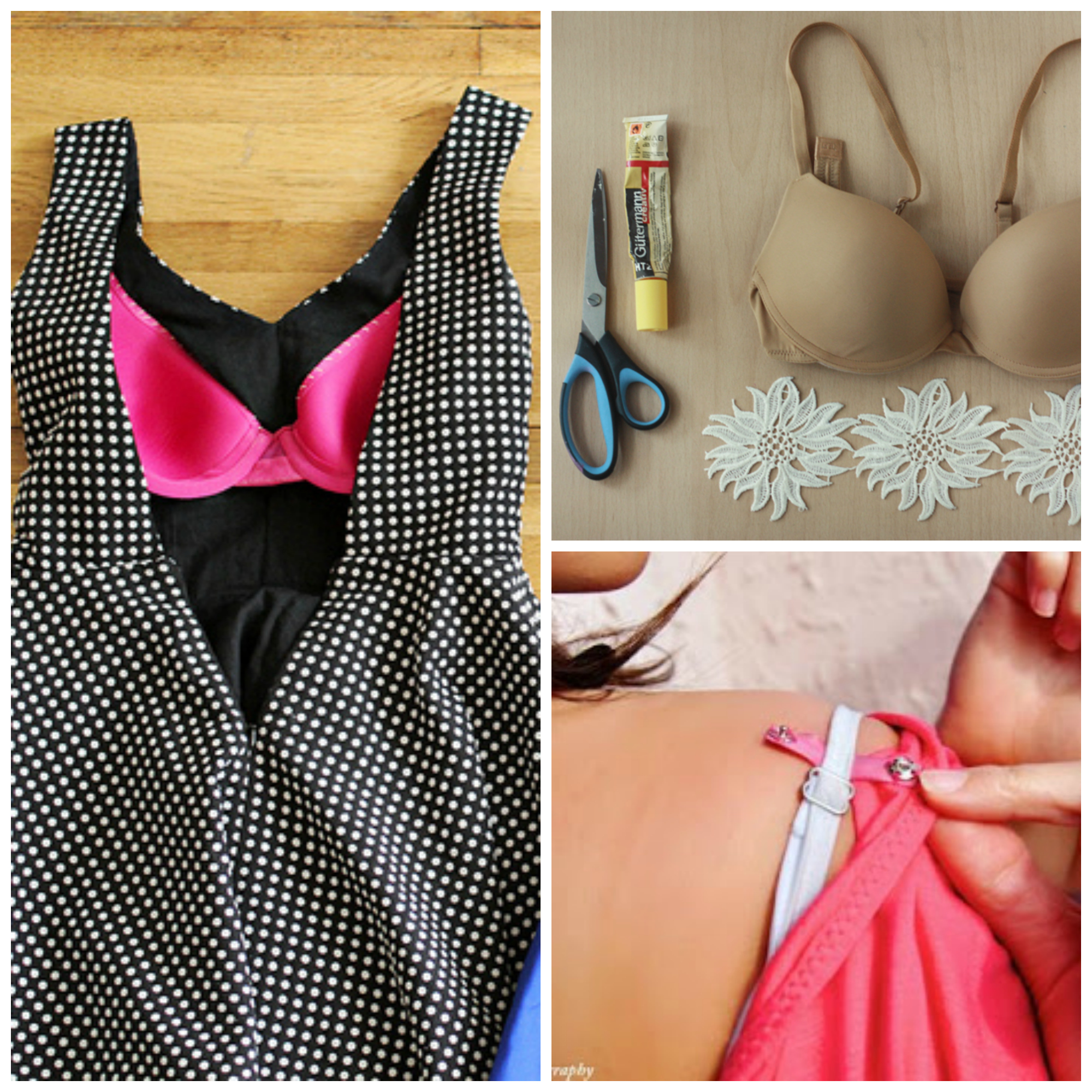 10 Bra Hacks That're Total Game Changers