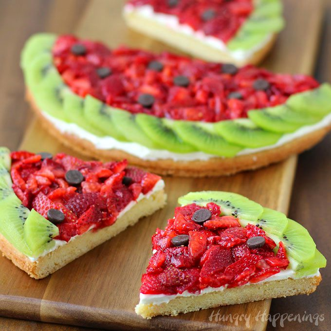 Watermelon Pizza Recipe