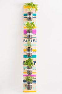 Colorful Vertical Garden