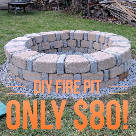 DIY Fire Pit Only $80