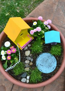 Potted Fairy Garden DIY