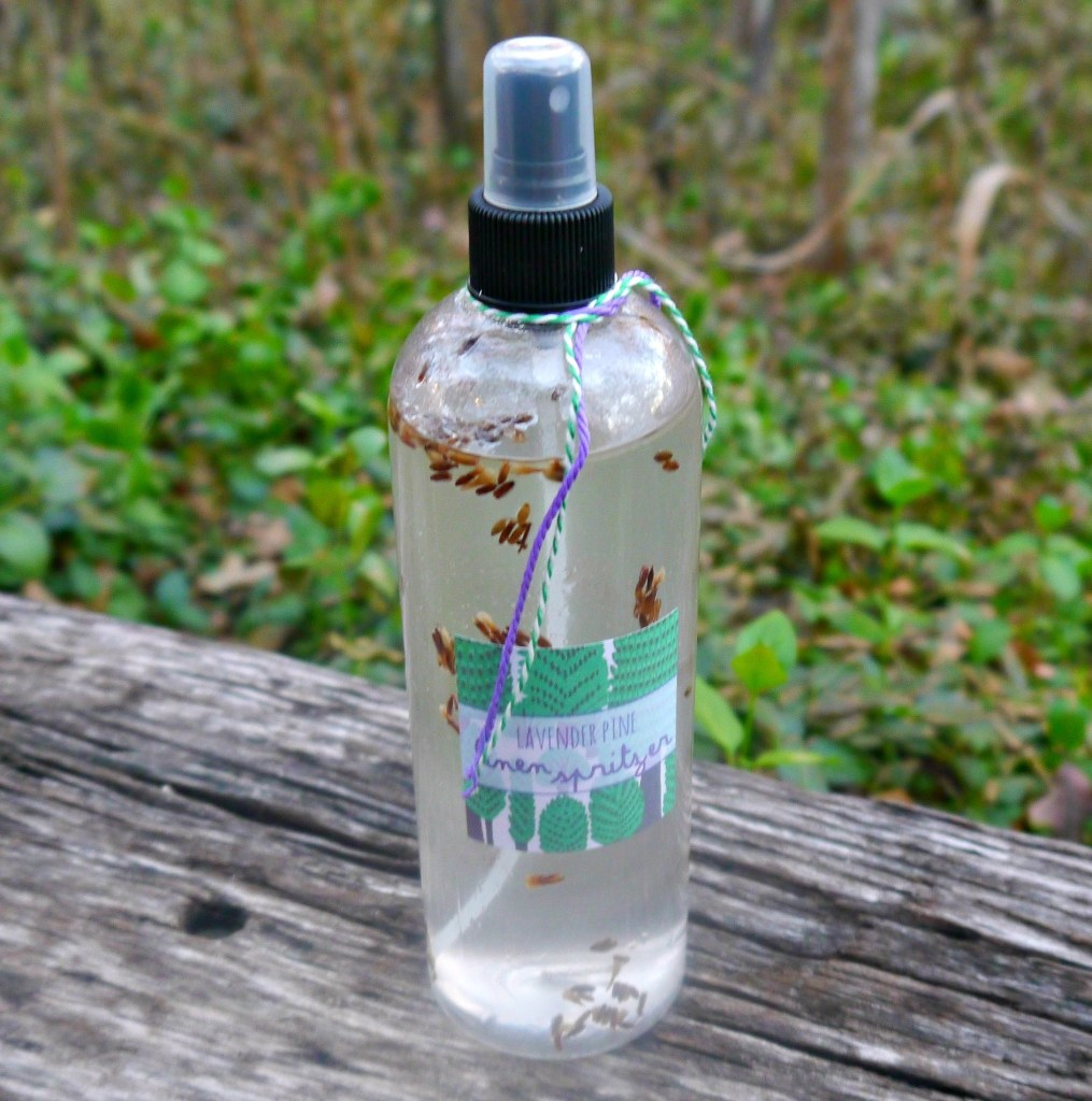 DIY Lavender and Pine Spray