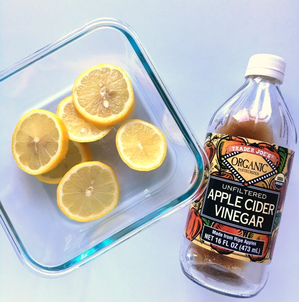 Apple Cider Vinegar Microwave DIY Cleaner