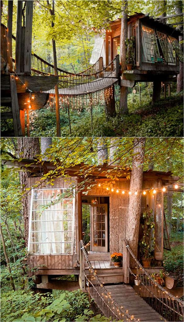 Tree House Backyard Shed Idea