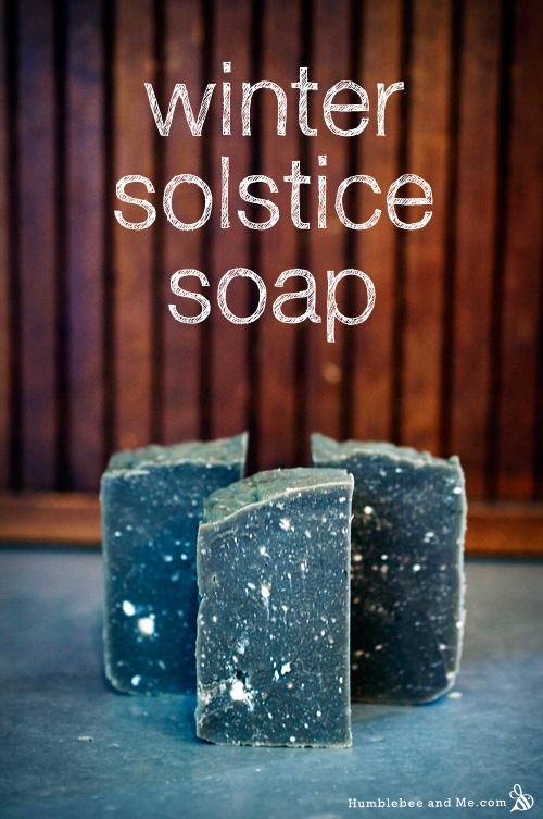 Winter Solstice Soap DIY