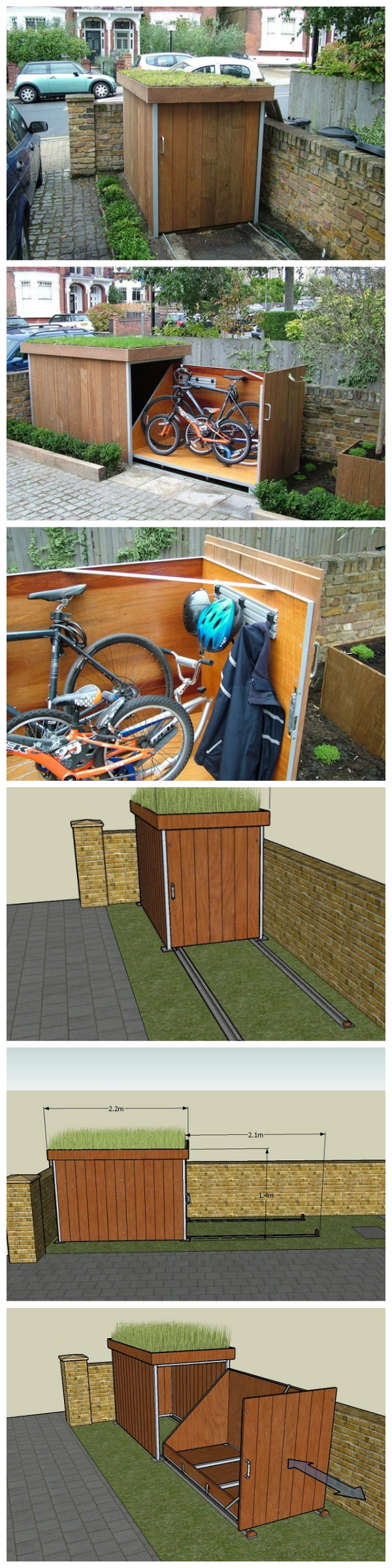 Bike Shed DIY