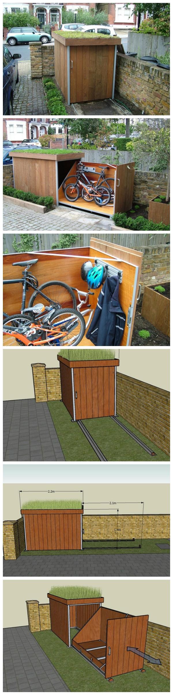 Bike Shed DIY