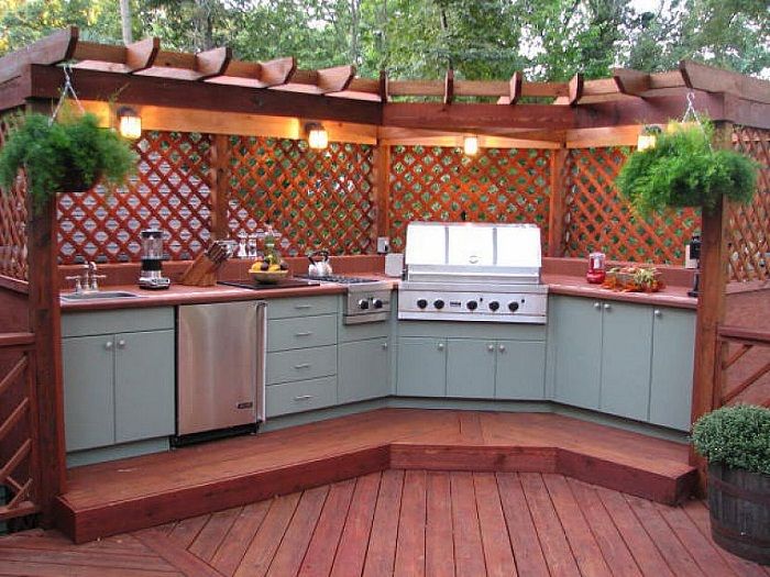 Modular Outdoor Kitchen Idea