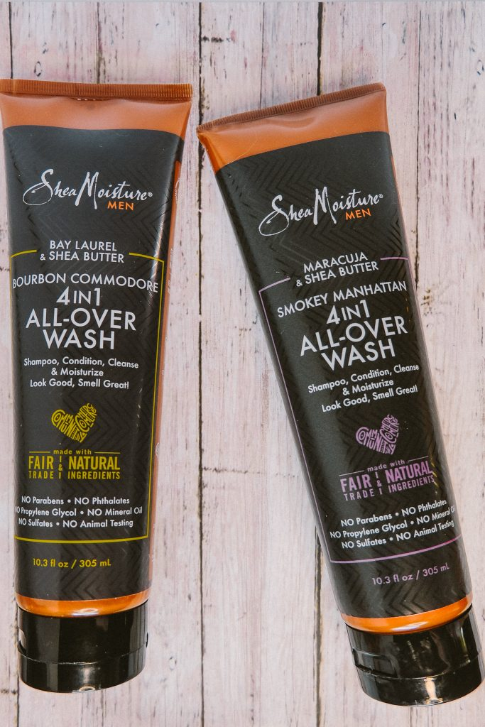SheaMoisture Bay Laurel and Shea Butter 4 in 1 All-Over Wash Review for Men
