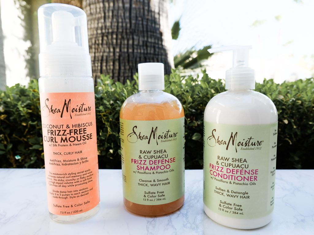 SheaMoisture Anti-Humidity Summer Hair Care