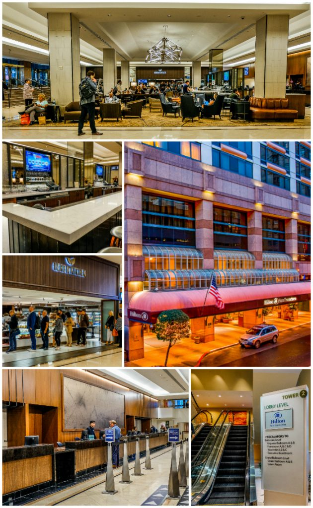 Hilton Union Square San Francisco Lobby