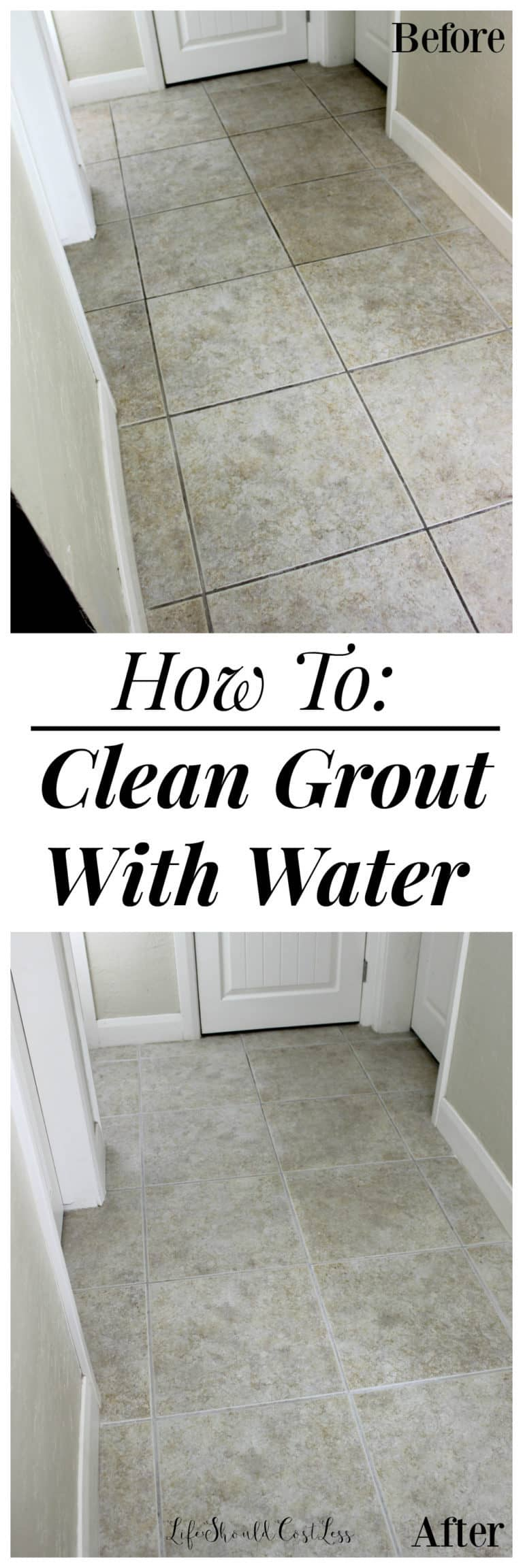 How to Clean Your Entire Home | Floor Grout Cleaner Hack