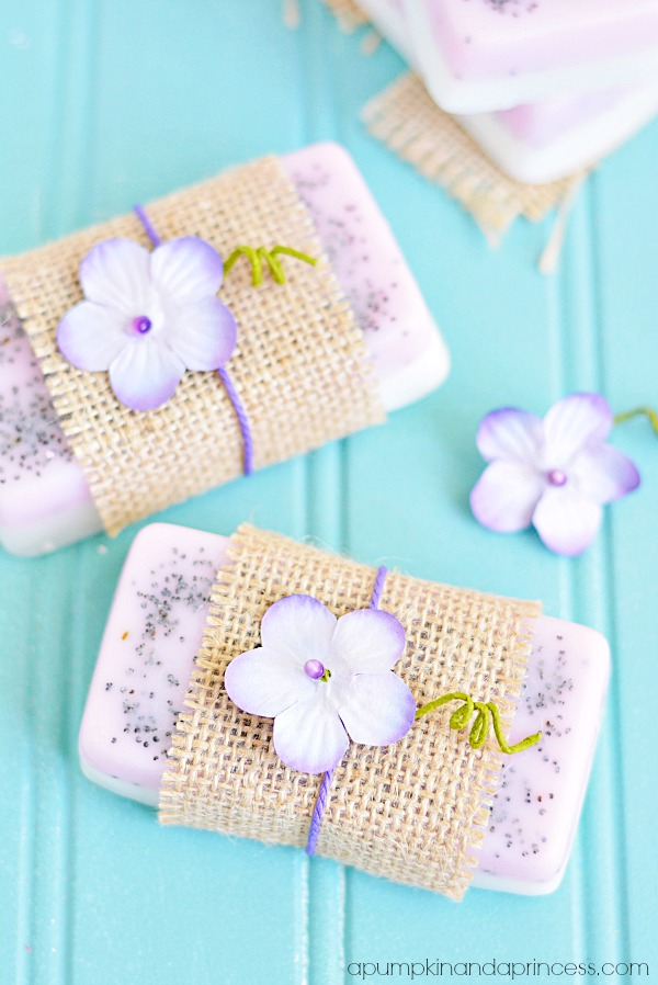 Lavender Lemon Soap DIY
