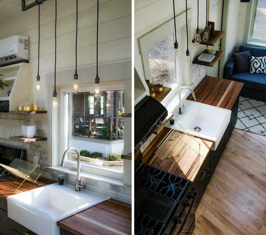 Tiny Home Made of Reclaimed Wood
