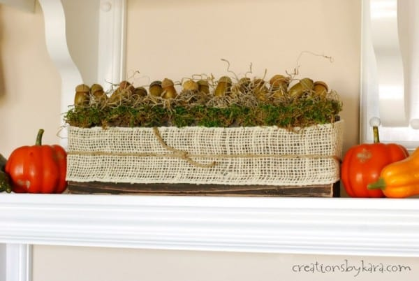 DIY Rustic Fall Decor | Centerpiece Idea