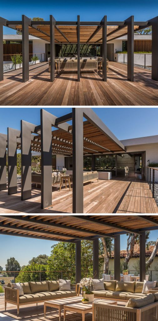 DIY Modern Pergola Design Idea