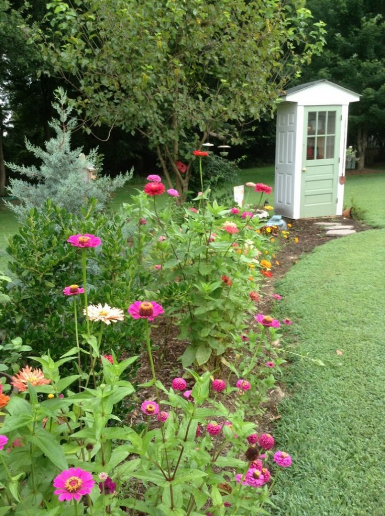 Skinny Garden Shed DIY