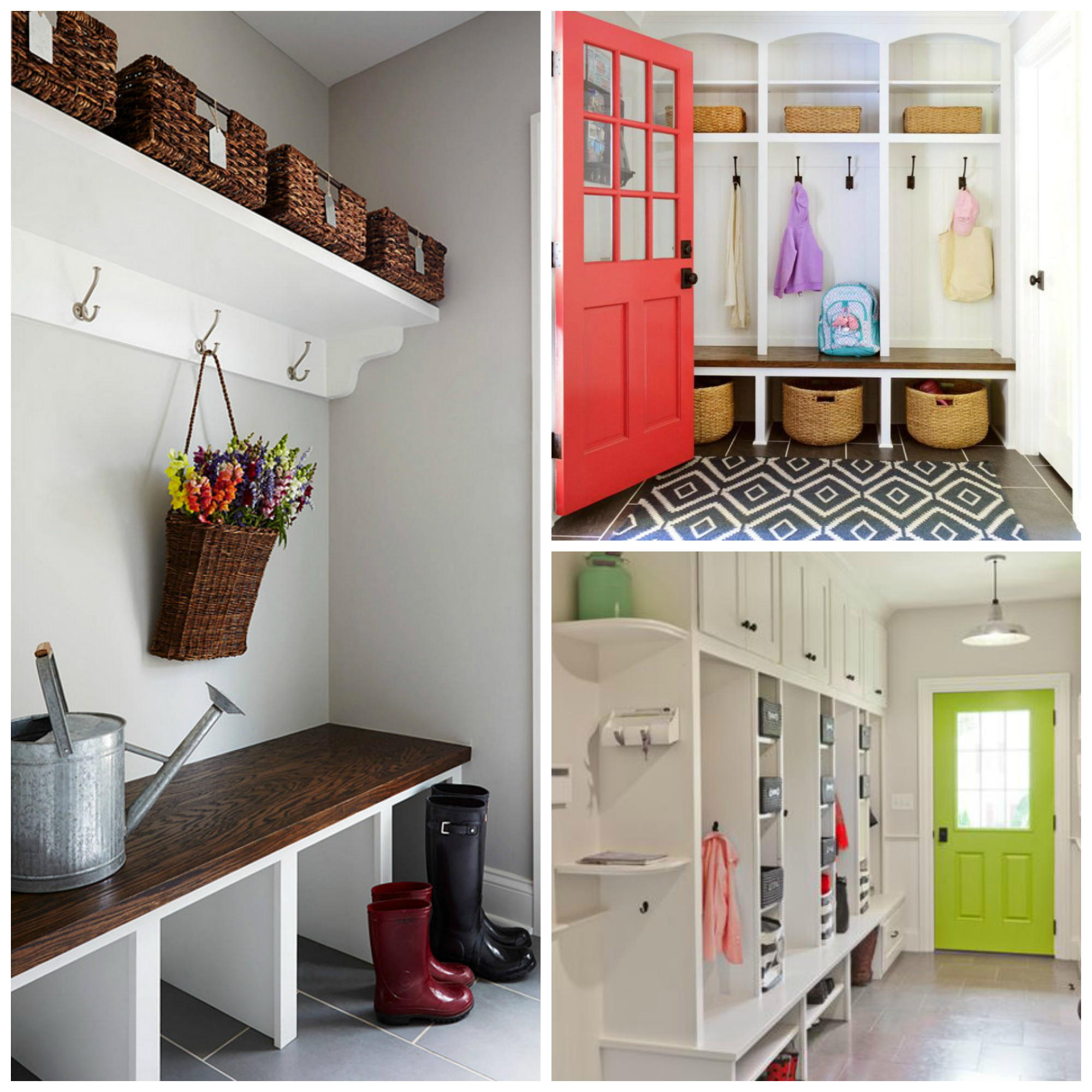 19 Practical Mudroom Entryway Ideas For Growing Families