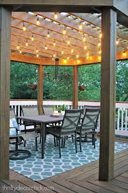Backyard Attached Pergola DIY