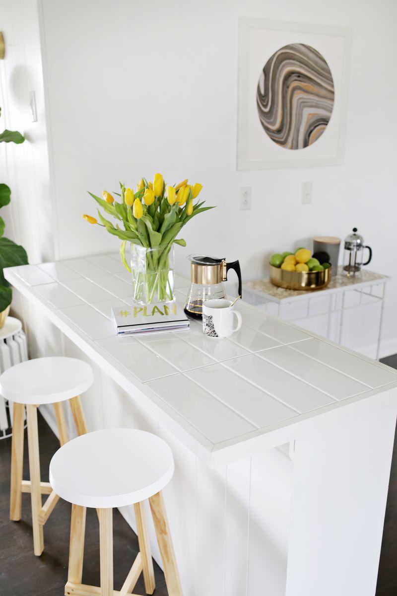 DIY Tile Counters