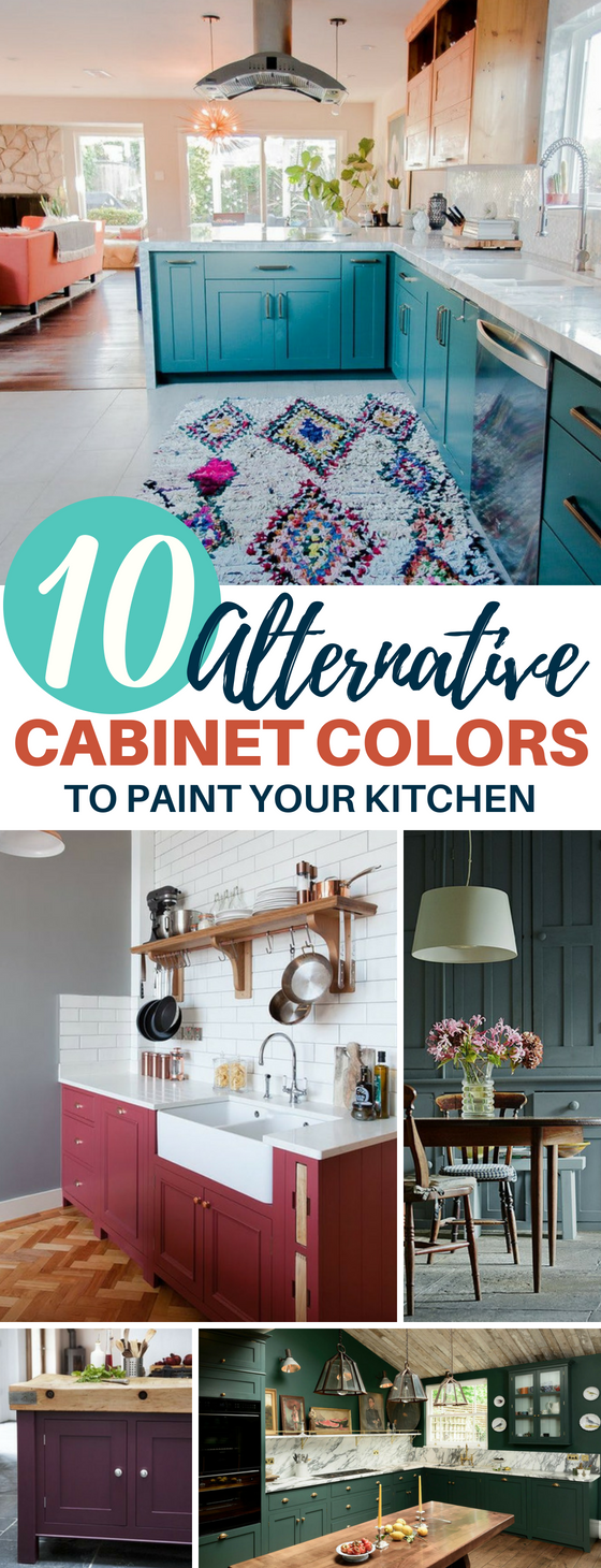 Alternative Kitchen Cabinet Paint Color Ideas That'll Make Your Home Unique
