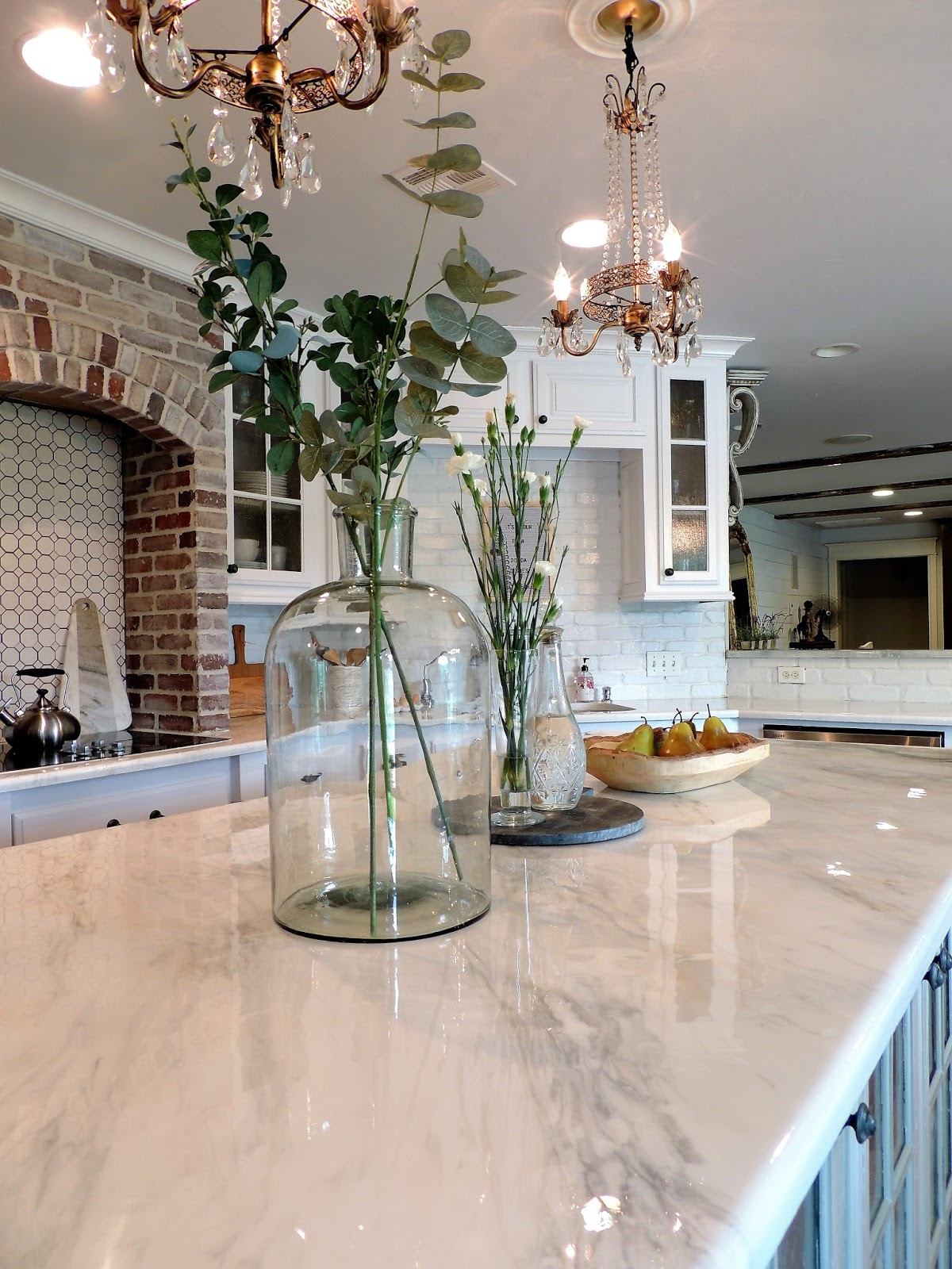 Epoxy White Marble Counter Tops DIY