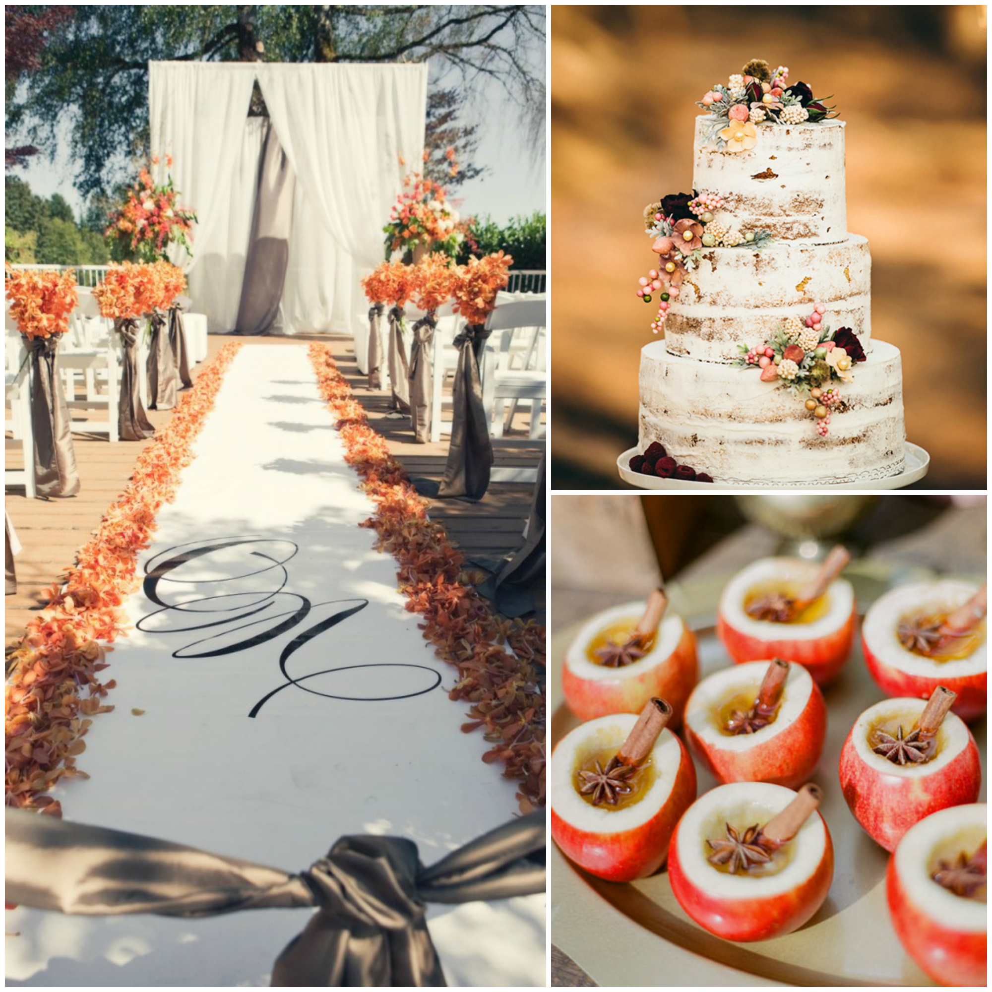 Fall Themed Wedding Ideas: 14 Autumn Wedding Ideas You're Going To Fall For