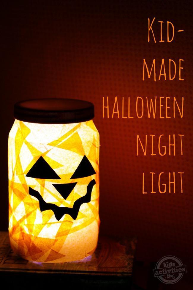 Kids Halloween Night Light DIY