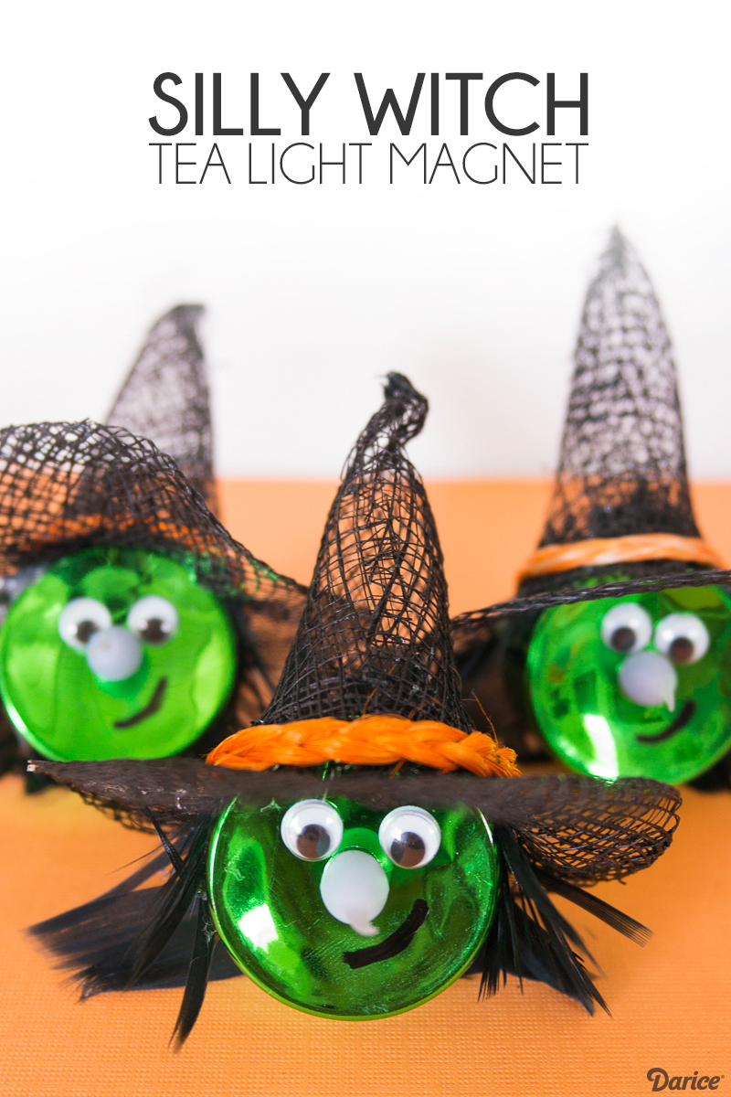 Silly Witch Magnet DIY