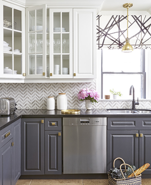 Gray Kitchen Cabinet Paint Idea