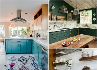 Alternative Kitchen Cabinet Colors to Copy