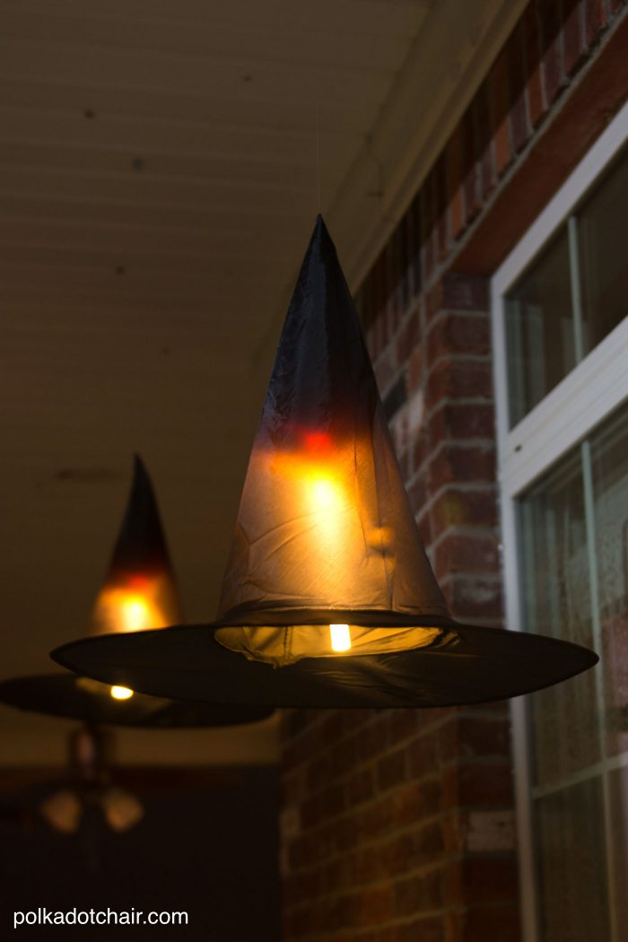 Witch Hat Luminary DIY for Halloween
