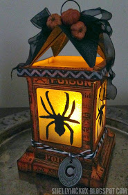 Spider Luminary DIY for Halloween Decorating