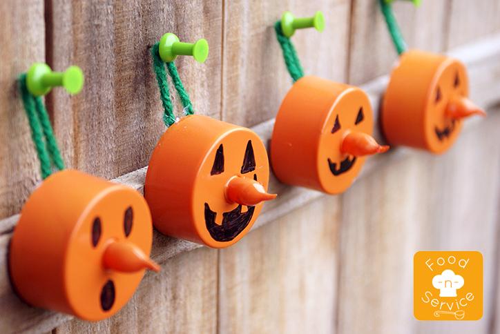 Hanging Pumpkin Tealight DIY