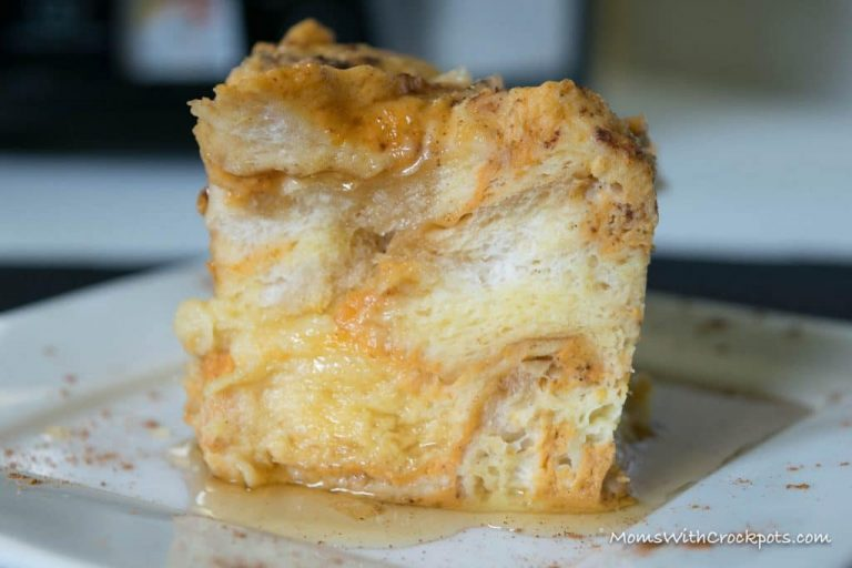 Fall Crock Pot Recipe -Pumpkin French Toast Casserole