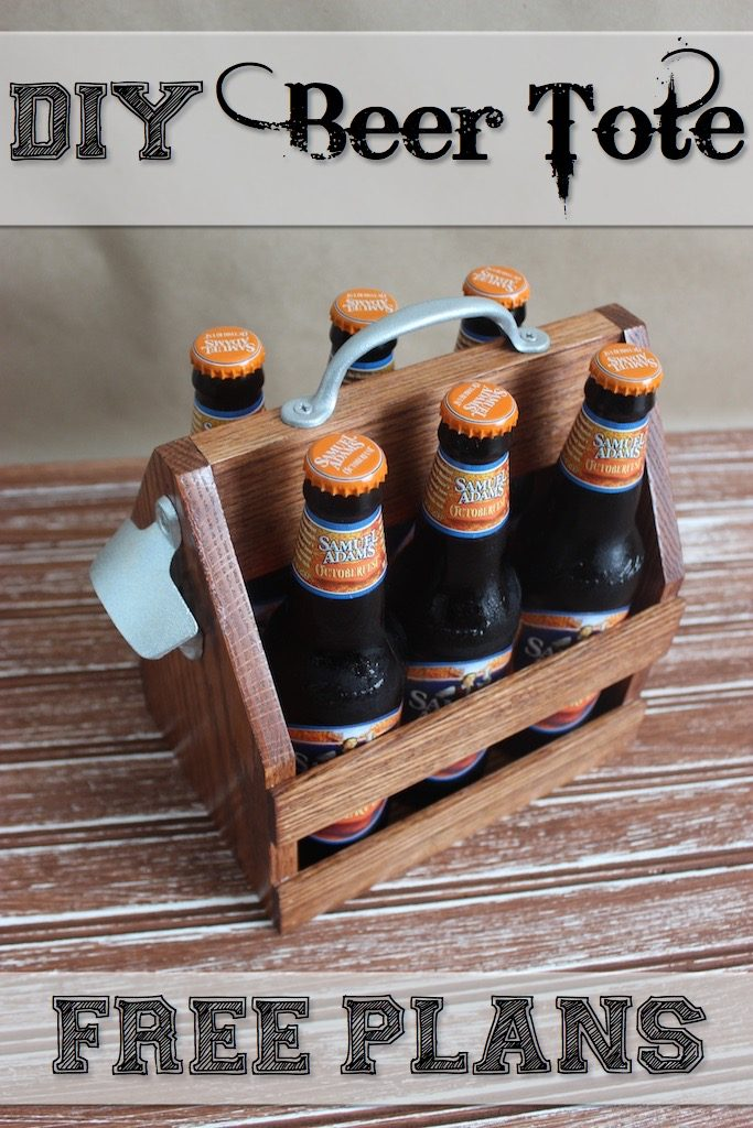 DIY Beer Tote With Plans