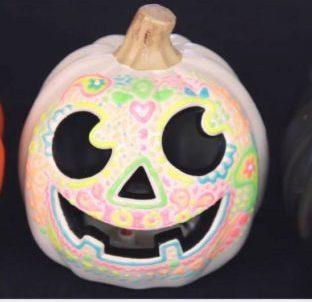 DIY Glow in the Dark Pumpkin