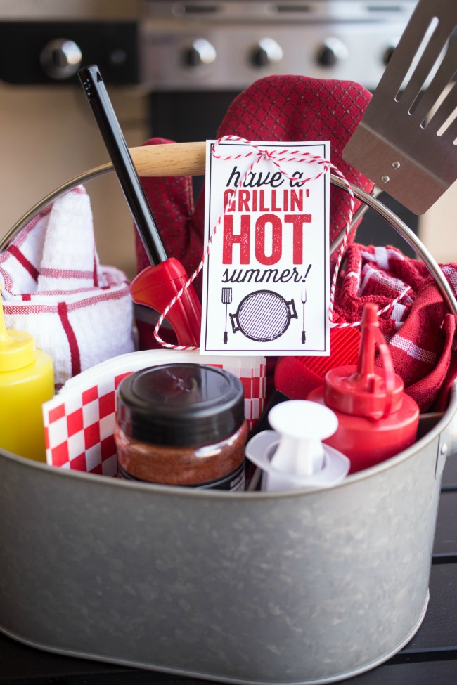 Grilling Gift Basket for Him